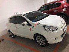 Cần bán xe Mitsubishi Mirage sx 2014, số tự động màu trắng