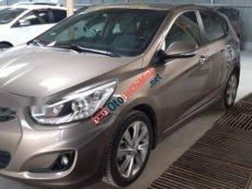 Bán Hyundai Accent Blue 1.4AT năm 2014, màu nâu, nhập khẩu xe gia đình