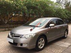 Cần bán xe Honda Civic sx 2009, số tự động màu bạc