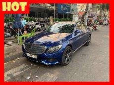 Bán xe Mercedes C250 xanh nội thất đen 2017 cũ chính hãng. Trả trước 450 triệu nhận xe ngay
