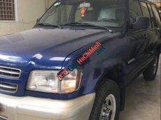 Bán Isuzu Trooper sản xuất năm 2002, màu xanh lam, nhập khẩu, 110 triệu