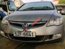 Cần bán xe Honda Civic 2.0AT đời 2008, màu bạc, đi đúng 27.000km