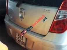 Bán xe Hyundai i10 năm sản xuất 2011, màu bạc, giá chỉ 225 triệu