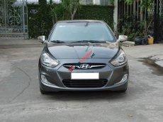 Hyundai Accent 1.4 AT nhập khẩu màu ghi xám 2011