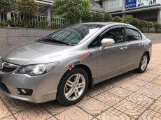 Cần bán xe Civic 2008 ĐK 2009 số tự động, màu xám bạc
