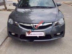 Cần bán lại xe Honda Civic 2.0AT sản xuất năm 2010, màu xám chính chủ, giá 448tr