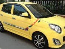 Bán xe Kia Morning 1.0AT đời 2010, màu vàng, nhập khẩu