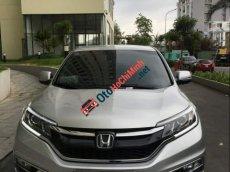 Cần bán lại xe Honda CR V 2.0 đời 2016, màu bạc, xe nhà sử dụng kỹ như mới, 1 đời chủ