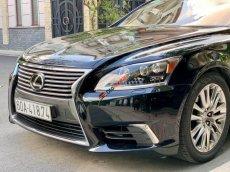 Bán Lexus LS460L sản xuất 2007 lên model 2016 màu đen nội thất đỏ