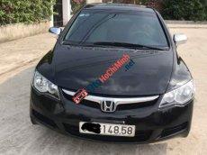Cần bán lại xe Honda Civic 1.8 MT đời 2009, màu đen, xe đẹp không tì vết