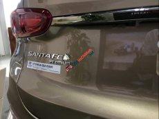 Bán Hyundai Santa Fe sản xuất năm 2019, màu nâu