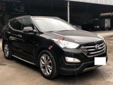 Bán Hyundai Santa Fe 2.4AT, 4WD Full xăng, màu đen, đời 2015, biển SG