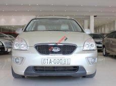 Cần bán xe Kia Carens EX MT sản xuất năm 2011, màu vàng