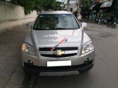 Cần bán xe Chevrolet Captiva 2007 LTZ số tự động, màu bạc