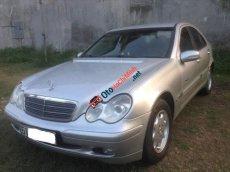 Bán xe Mercedes C180 Kompressor đời 2001, màu bạc, nhập khẩu xe gia đình