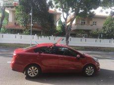 Cần bán Kia Rio Sedan, số tự động, đời 2015, màu đỏ nột thất đen