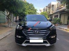 Bán xe Hyundai Santa Fe 2.4AT sản xuất 2017, màu đen