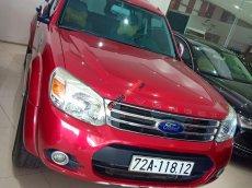 Cần bán Ford Everest đời 2014 2.5 AT máy dầu, Odo 70.000 km, xe màu đỏ rực rỡ cùng hè khoe sắc