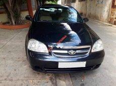 Bán xe cũ Daewoo Lacetti 1.6 sản xuất 2007, màu đen