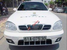 Bán xe 5 chỗ Daewoo Lanos dòng cao cấp SX, sản xuất cuối 2002, màu trắng sang trọng còn rất mới