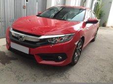 Bán Honda Civic 2018 tự động bảng 1.8 màu đỏ, xe gia đình đi kỹ