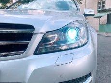 Cần bán Mercedes C200 2014, màu bạc, xe nhập
