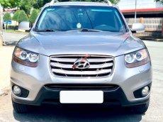 Bán ô tô Hyundai Santa Fe SLX sản xuất 2009, màu bạc, nhập khẩu nguyên chiếc, 633 triệu