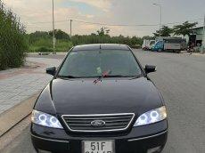 Bán xe Ford Mondeo 2.5 V6, 1 vạch 2004, màu đen, giá rẻ 185tr