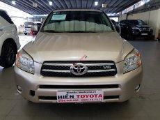 Bán Toyota RAV4 Limited 2007, màu vàng, nhập khẩu, 490tr