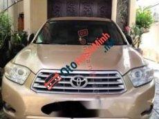 Bán Toyota Highlander năm sản xuất 2008, màu vàng cát, nhập khẩu, giá 695tr