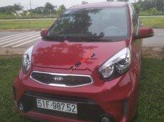Cần bán Kia Morning Si AT sản xuất 2015, màu đỏ, đã sử dụng 195000 km