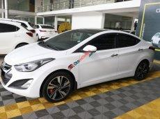 Cần bán Hyundai Elantra GLS 1.8AT sản xuất 2014, màu trắng, nhập khẩu