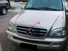Bán Mercedes ML500 SX 2003, màu bạc chính chủ, giá tốt