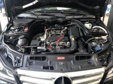Bán Mercedes C200 đời 2013, màu đen, đăng kí 22/09/2013