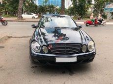 Cần bán Mercedes E240, số tự động, 2003, màu xám xanh