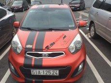 Bán xe Kia Morning AT đời 2011, màu đỏ, giá tốt