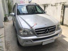 Bán Mercedes ML500 tự động 2003, ĐK 2006, màu bạc, xe chính chủ