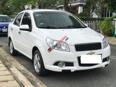 Bán Chevrolet Aveo 1.5LT năm sản xuất 2015, màu trắng