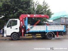 Bán Hino FC500 3T4, gắn cẩu 3T3, xe có sẵn test thoải mái, quà tặng hấp dẫn dành cho xe gắn cẩu