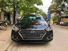 Bán xe Hyundai Accent 1.4AT đặc biệt sản xuất 2019, màu đen, xe giao ngay