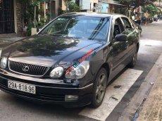 Bán xe Lexus GS 430 đời 2002, màu đen, xe nhập