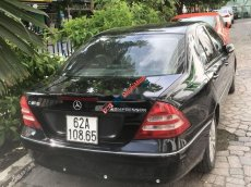 Bán Mercedes C200 Kompressor năm 2001, màu đen, xe nhập