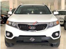 Cần bán Kia Sorento 2.4 AT 2012, màu trắng, trả trước chỉ từ 162tr. Hotline 0985.190491(Ngọc)