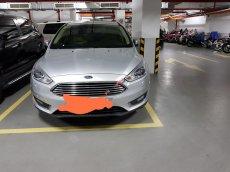 Bán xe Ford Focus 1.5 Ecoboost phiên bản Titanium full option năm 2016, màu bạc, xe gia đình, giá tốt 650 triệu đồng
