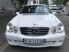 Bán Mercedes-Benz C240 đời 2005, màu trắng, ít sử dụng, giá 250 triệu đồng