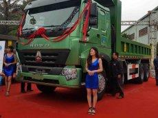 Xe ben HOWO dump truck 4 chân 13 tấn 2 euro 5