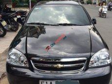 Bán ô tô Chevrolet Lacetti đời 2013, màu đen