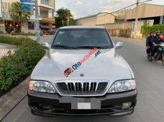 Bán Ssangyong Musso sản xuất 2002, màu bạc, 70tr