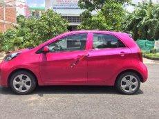 Xe Kia Morning EX đời 2016, màu hồng số sàn