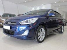 Bán ô tô Hyundai Accent blue 1.4AT năm 2015, màu xanh lam, xe nhập Hàn Quốc